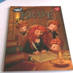 Disney Pixar Brave -Learn to Draw Book